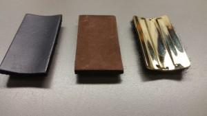 Vandoren Leather Ligature pressure Plates