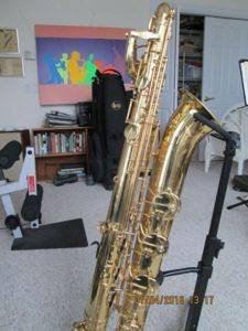 Yanagisawa B800 Baritone Saxophone Elimona