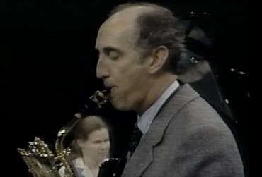 Eugene Rousseau Baritone Saxophone